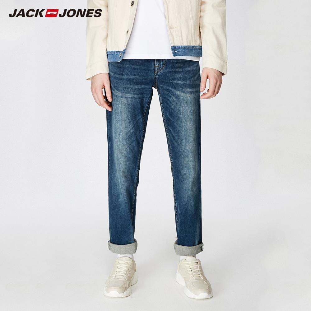 JackJones hommes Stretch Jeans hommes élastique coton Denim pantalon ample pantalon nouvelle marque homme 219132584
