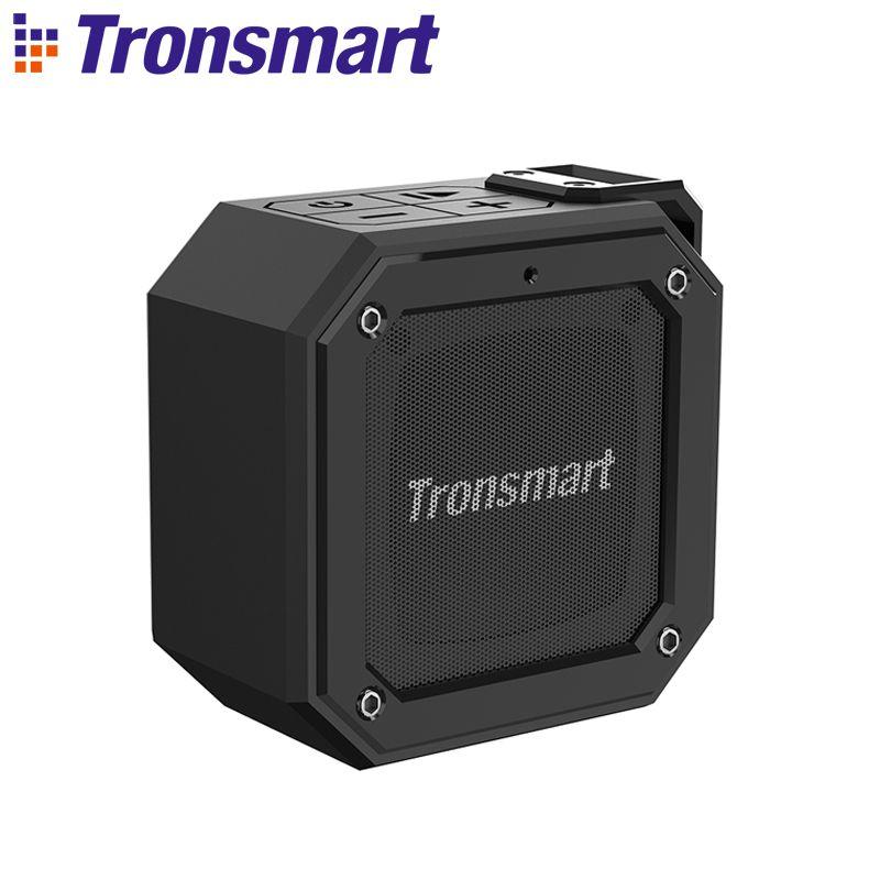 Tronsmart Groove (Force Mini) haut-parleur Bluetooth IPX7 colonne étanche haut-parleur Portable pour l'ordinateur avec 24H de temps de jeu
