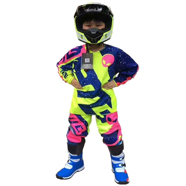 bmx racing suit mountain bike outdoor sports ATV MTB DH GP off road motocross bike protection downhill children clothes .shorts