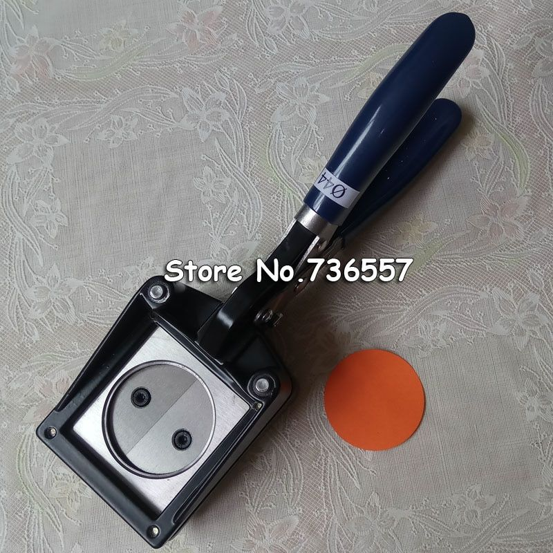 Customized Handle Passport Photo Die Cutter Round Shape Photo Cutter Good Quality Wholesale 44mm