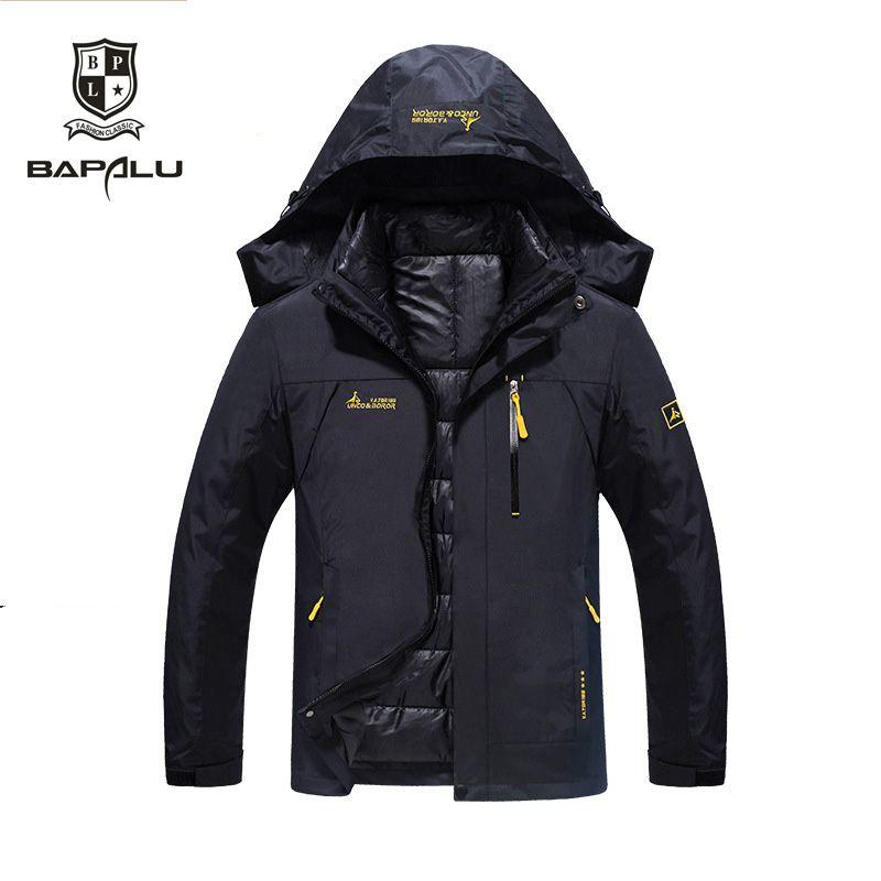 winter jacket men female Down jacket Waterproof windproof leisure jacket Plus thick velvet Warm jacket coat 4XL 5XL 6XL