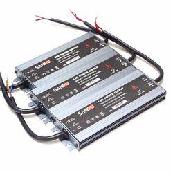 Waterproof Ultra Tipis Cahaya Transformer AC 100-240 V 110 V 220 V ke DC 12 V DIPIMPIN Driver Adaptor 60 W 100 W 120 W 150 W 200 W Power Supply