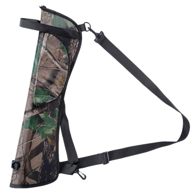 Arrow quiver Portable Outdoor Hunt Target Hunting Archery Quiver Back Hip Waist Bag Arrow Bow Holder Pouch for Archery Shooting