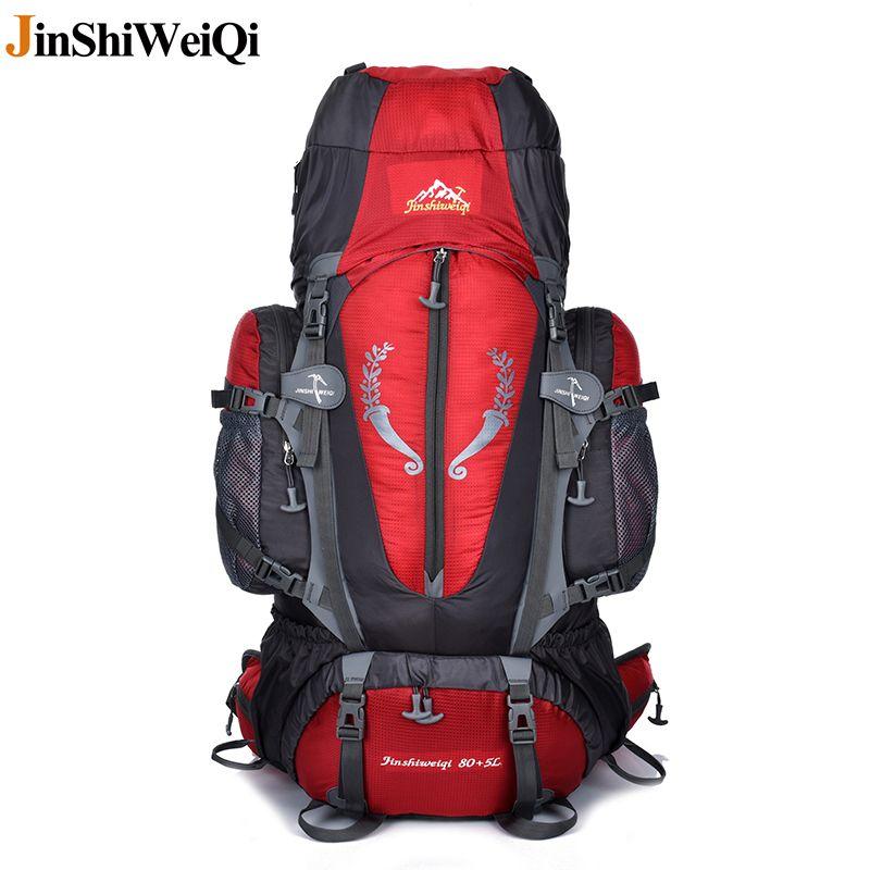 85L Outdoor Large Backpack Unisex Travel Climbing Mountaining Backpacks Hiking Big Capacity Rucksacks Camping Sports Bags