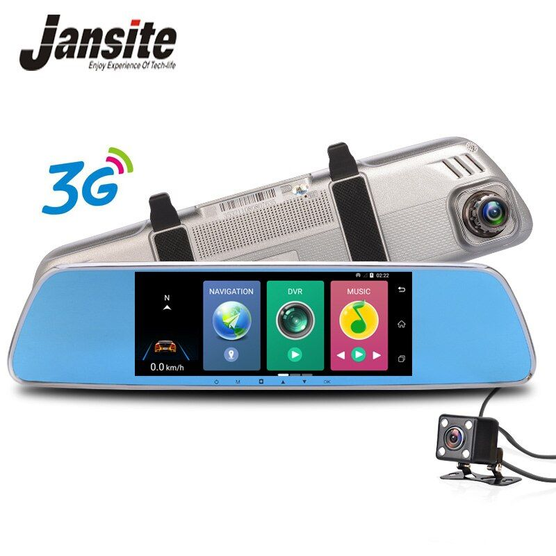 Jansite GPS navigation Auto Dvr 3g Wifi auto kamera 7