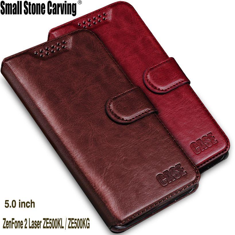 Чехол для Asus Zenfone 2 Laser ZE500KL Флип Бумажник кожаный телефон сумка-чехол Для Zenfone 2 Laser ZE500KL Lazer ZE500KG чехол
