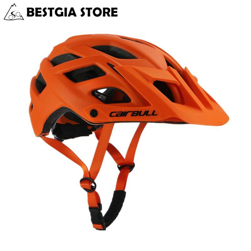 2018 nouveau casque de cyclisme Cairbull TRAIL XC casque de vélo dans le moule vtt casque de vélo Casco Ciclismo route casques de montagne casquette de sécurité