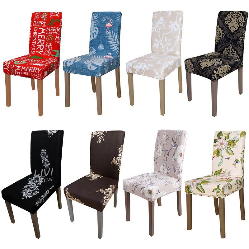 Impresión Zebra Stretch Cubierta de La Silla Elástica silla asiento cubre para el banquete Restaurante hotel casa decoración de la Navidad