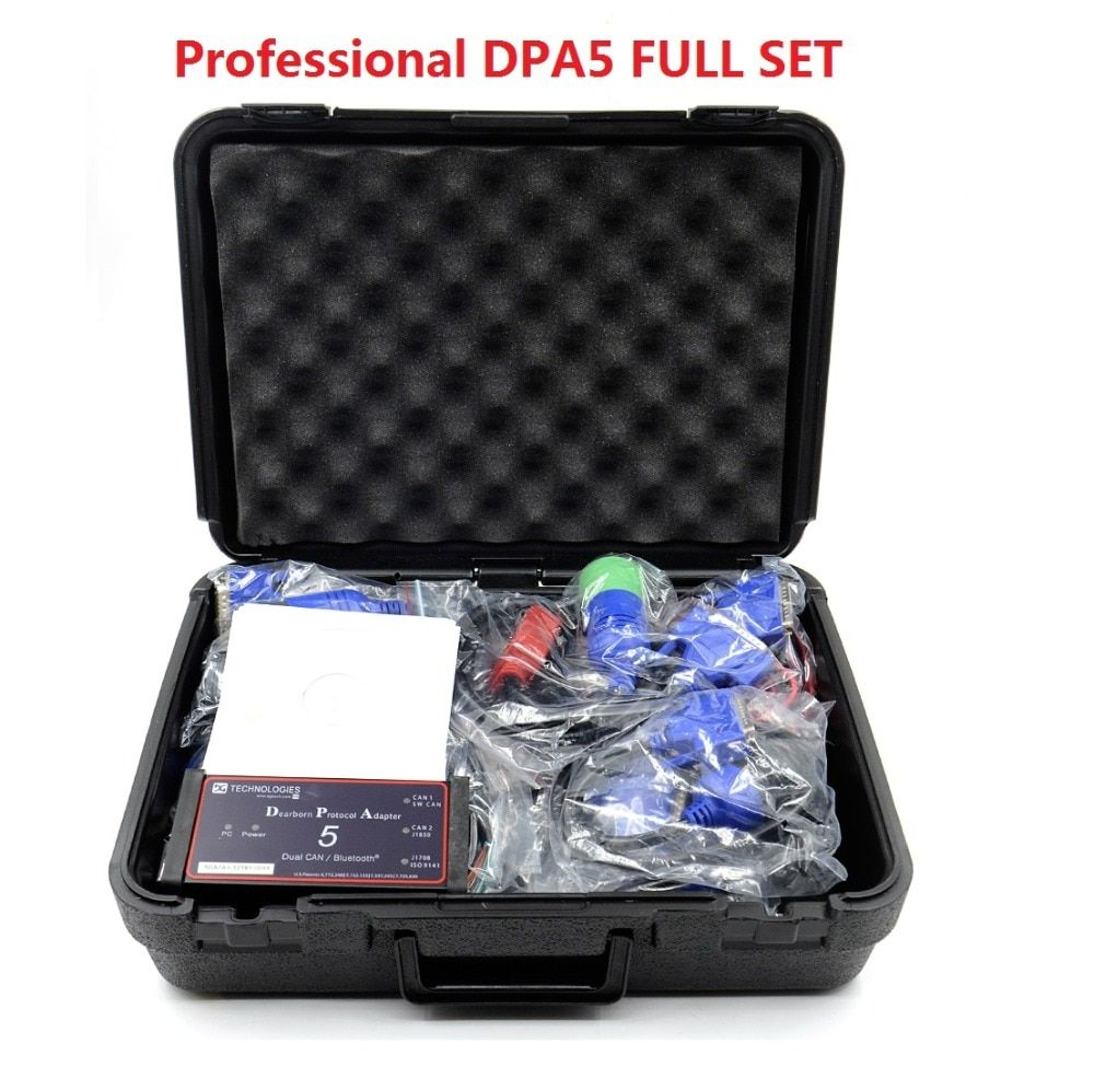 2018 Professional Truck Tool Dpa5 Dearborn Protocol Adapter DPA5 Heavy Duty Truck Scanner high quality ship Fast