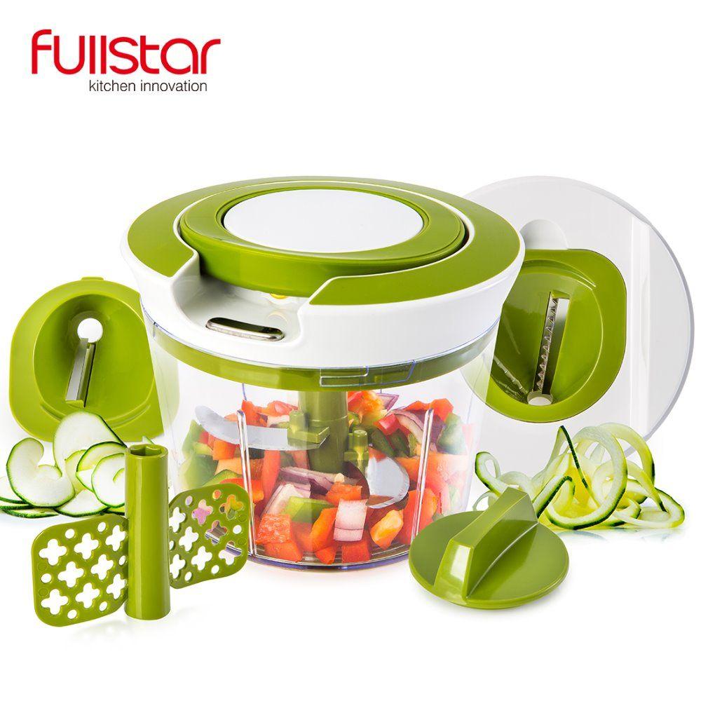 Extracteur rapide chaîne alimentaire hachoir spirale trancheuse puissant manuel à main Chooper/mélangeur/mélangeur pour couteau de cuisine outil de cuisine