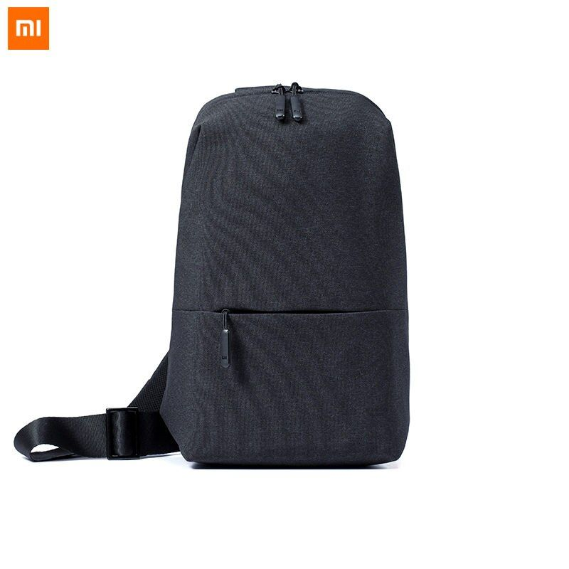 Original Xiaomi Backpack Sling Bag Mi Urban Leisure Chest Pack Small Size 4L Shoulder Type Unisex Rucksack Crossbody Casual Bag