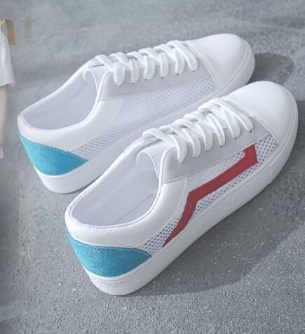 Net small white shoes female breathable Korean students JBB1-JBB6