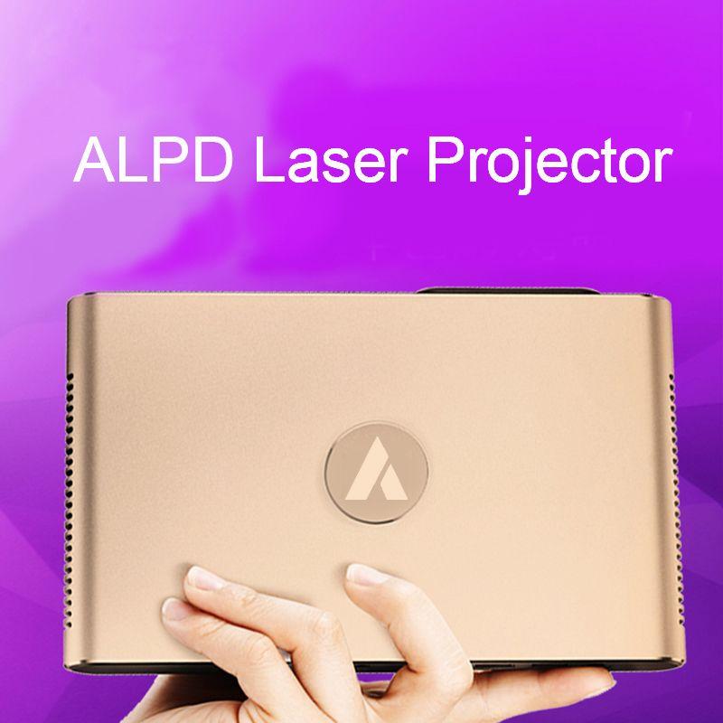 APPOTRONICS S2 Laser Projektor Android WIFI Bluetooth 3D 3600 Lumen Motorisierte Laser Objektiv 2g 16g 300 zoll hause beamer