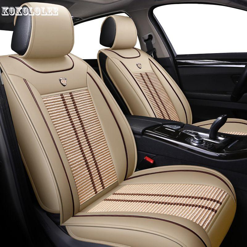 [kokololee] car seat covers for volvo s80 toyota land cruiser prado 150 kia rio lexus rx300 ford ranger auto accessories