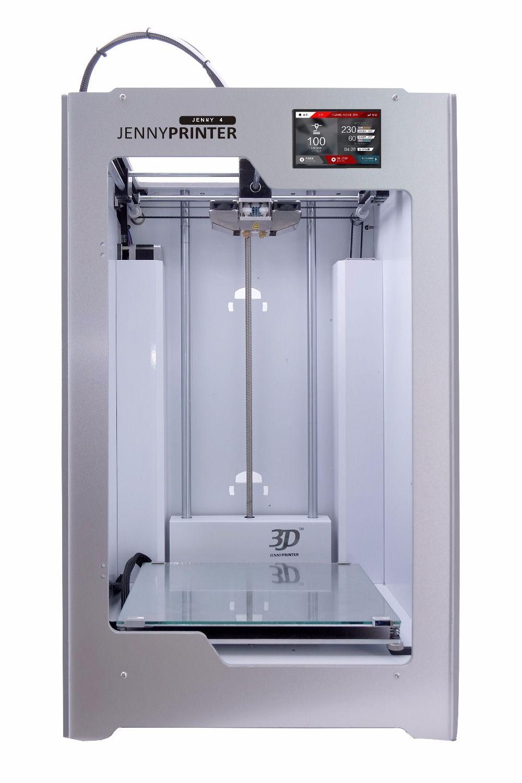 2018 Newest! JennyPrinter4 Z360 Touch Screen Dual Extruder 3D Printer DIY KIT For Ultimaker 2 UM2+ Extended