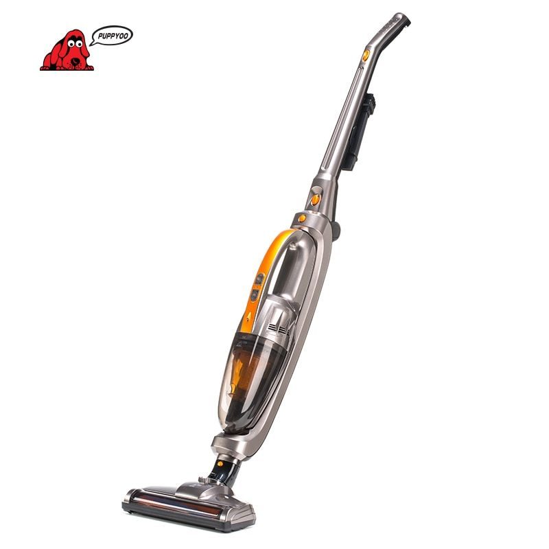 PUPPYOO Cordless Handheld&Stick Vacuum Cleaner for Home Wireless <font><b>Lithium</b></font> Charging WP510
