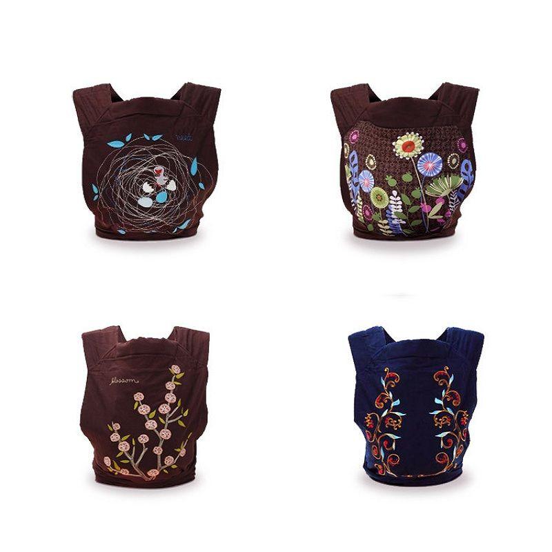 Nouvelle qualité confortable 4 modèles styles Mei Tai porte-bébé modèle de mode écharpe économique pour 0-3 ans enfants infantile