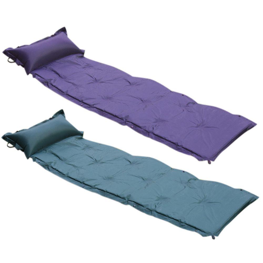 Foldable Folding Sleeping Mattress Mat Pad Waterproof Outdoor Camping Mat inflatable Mattress Soft Inflatable Bed
