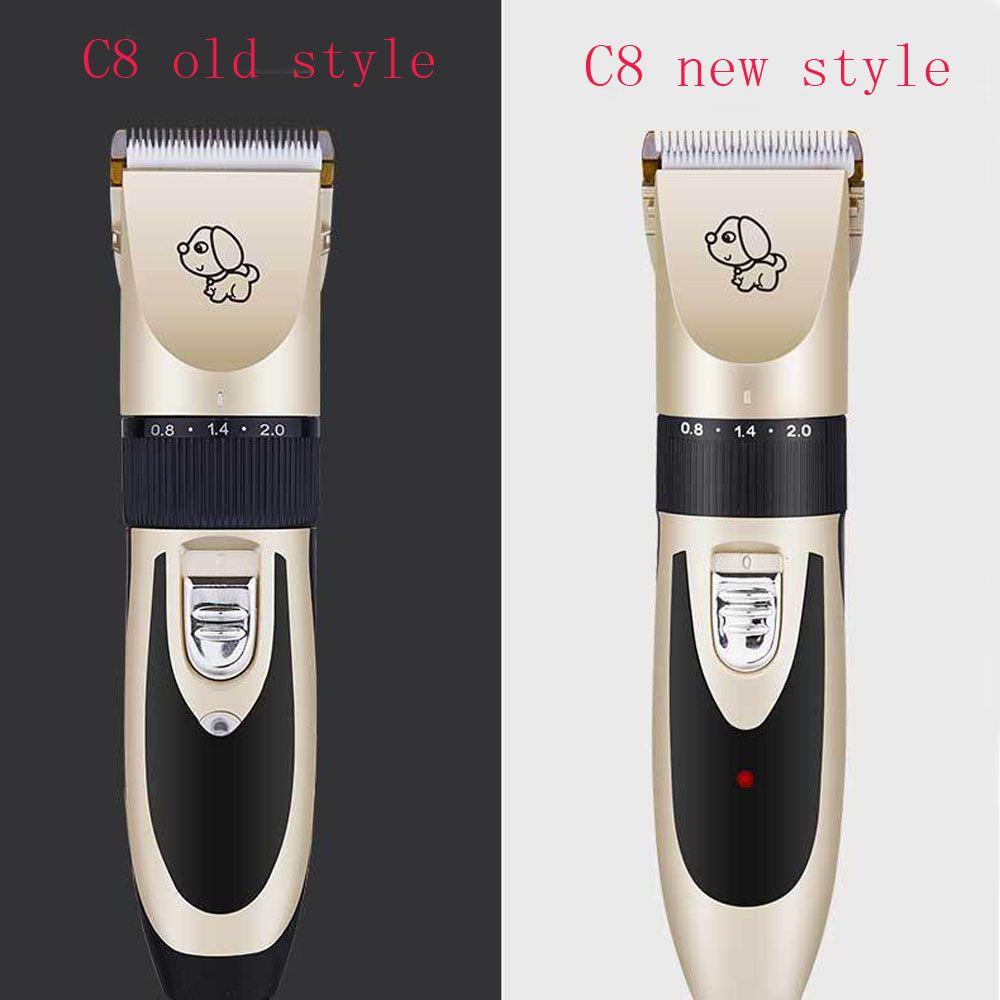Rechargeable Professionnel USB Chien Chat Cheveux Clipper Avec 5 Vitesse Réglable Lame Toilettage Hair Remover Machine Tondeuse pour Animaux de Compagnie
