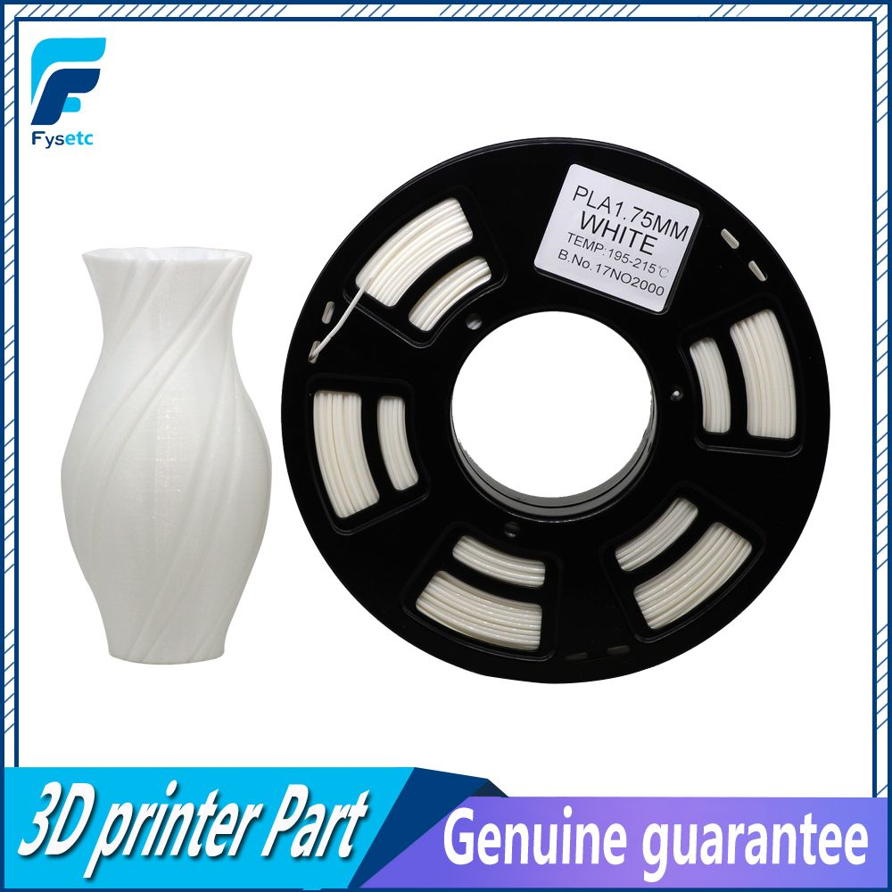 High Quality White Color PLA Filament 1.75mm 1kg / 2.2lbs Printing Materials For 3D Printer Plastic Reprap / Wanhao / Makerbot