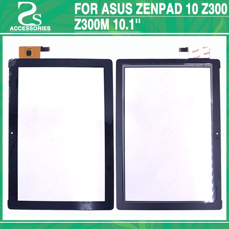 Tested Z300 Touch Panel For Asus zenpad 10 Z300 Z300M 10.1'' Touch Screen Digitizer Front Outer Glass Sensor White Black