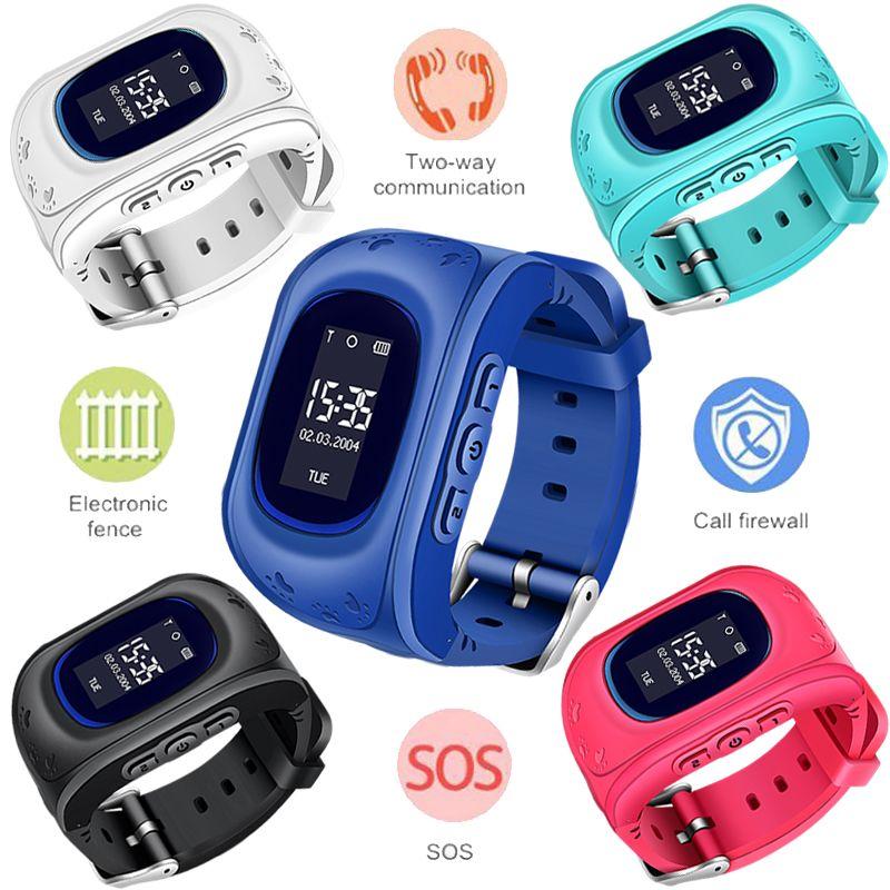 WISHDOIT Heißer GPS Kinder Uhr Baby Smart Uhr für Kinder SOS Anruf Location Finder Locator Tracker Anti Verloren Monitor Smartwatch