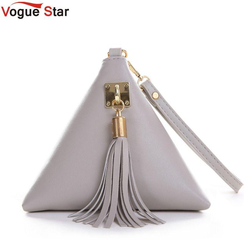 Vogue star mode mini quaste kupplung ledertasche designer geldbörse berühmte marke frauen fringe handtasche abendtasche bolsa ls453