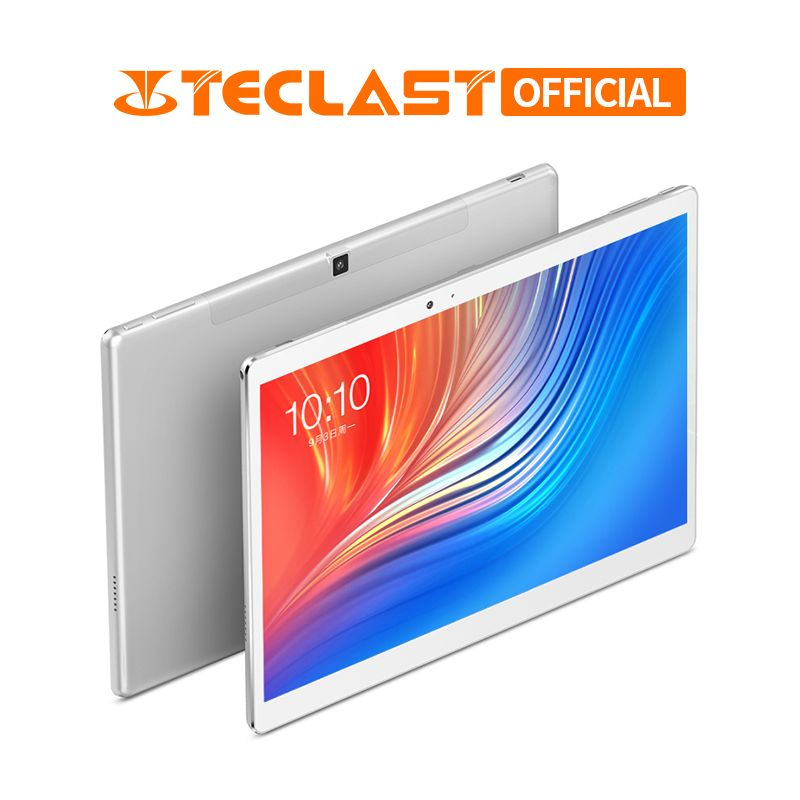 10.1 pouces 2560*1600 Teclast T20 tablette PC 4G appel téléphonique MT6797 Helio X27 Deca Core Android 7.0 4 GB RAM 64 GB ROM 8100 mah 13MP