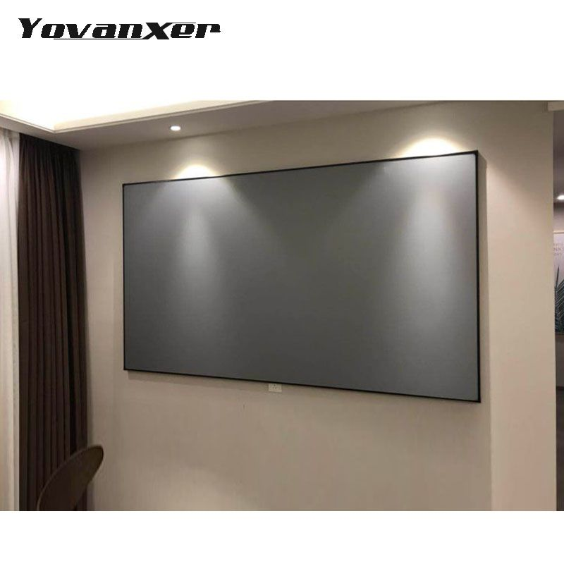 Projector Screen 60 72 100 120 133inch Projection Screen For XGIMI H1 H2 H1S Z6 Z5 Z3 JMGO J6S E8 UNIC UC40 UC46 Projetor Beamer