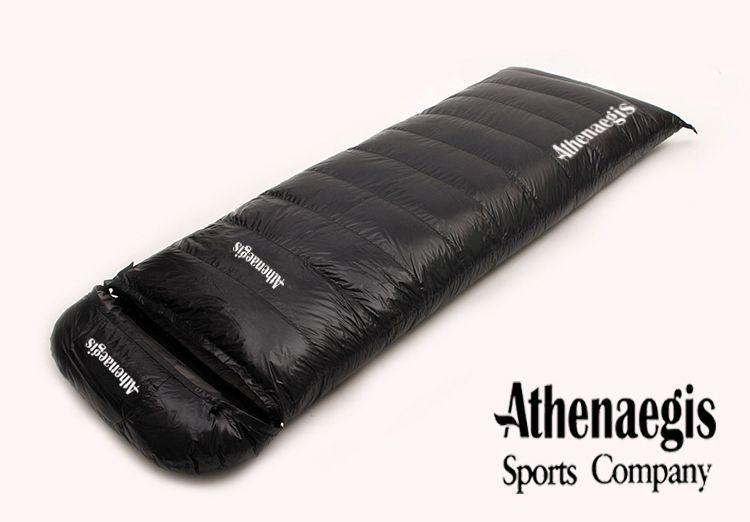 Ультра-легкий белый гусиный пух 2200 г/2500 г/2800 г/3000 г заполнения может быть сращены конверт взрослых дышащий утолщение спальный мешок