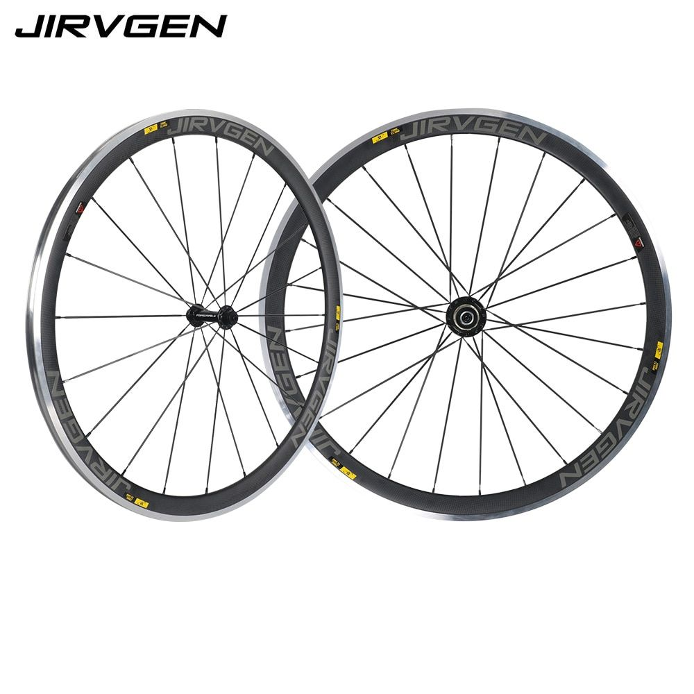 700C Alloy brake surface carbon wheels 38mm depth Climbing carbon wheelset 23mm width 3K matte finish For Long downhill riding