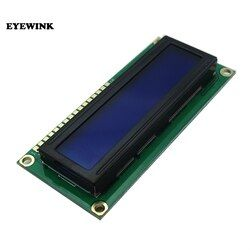 EYEWINK New Character LCD Module Display LCD 1602 16X2 HD44780 Blue Blacklight