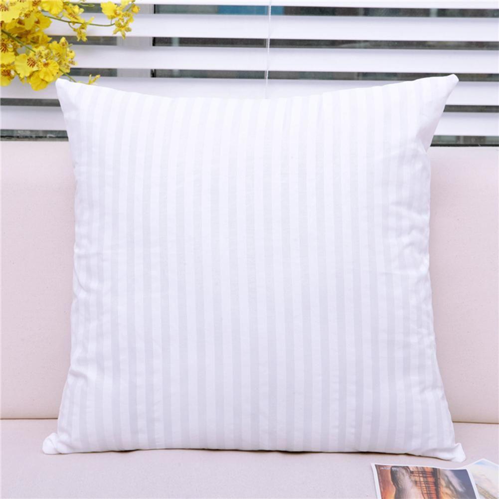 Accueil coussin intérieur remplissage coton-rembourré oreiller Core pour voiture doux oreiller coussin Insert coussin Core 40x40/45x45/50x50 cm