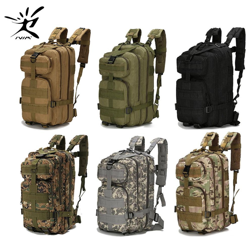1000D Nylon Waterproof Tactical Backpack Military Backpack Tactical Bag Outdoor Sports Camping Hiking Fishing Hunting 28L Bag