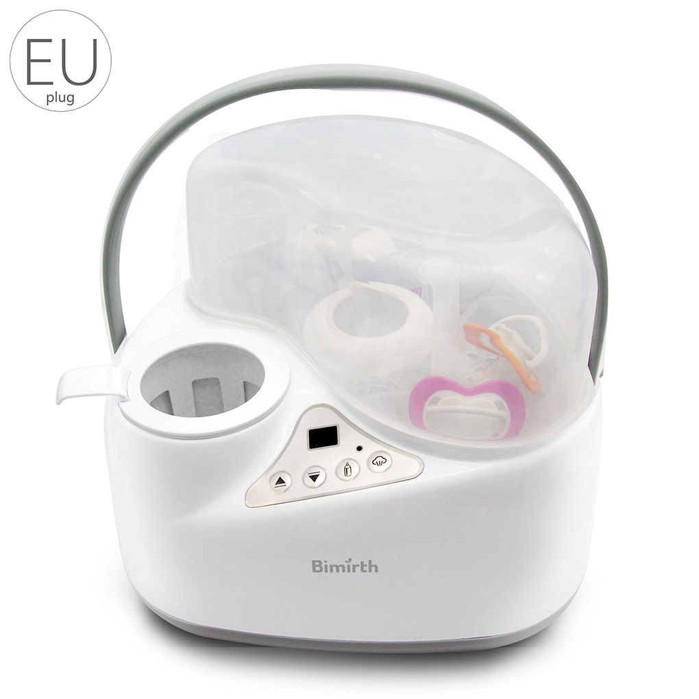 Bimirth Brand New 4 in 1 Multi-functional Breast Milk Heater Baby Bottle Warmer Breast Sterilizer Food Steam Heating Electric