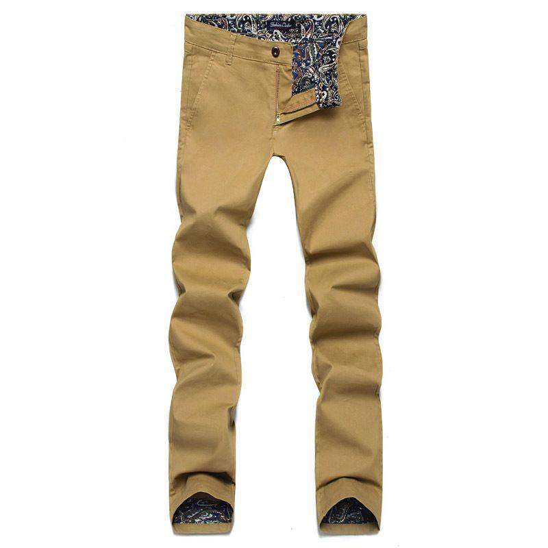 Hommes Pantalon 2018 Nouveau Printemps Mode Casual Hommes Pantalon Slim Fit Affaires Conception hommes pantalon de Haute Qualité Coton Pantalon Armée 28-46