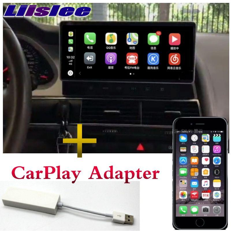Liandlee Auto Multimedia Player NAVI Für Audi A6 A6L 2005 ~ 2011 CarPlay Adapter 4G RAM Radio Stereo GPS 4G Screen-Navigation