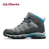 Clorts зимние кроссовки для мужчин непромокаемая натуральная кожа мужская обувь дышащая шнуровка походная обувь кроссовки мужские HKM-823 2018