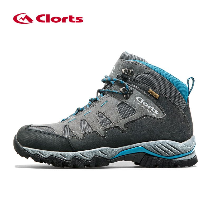 Clorts Waterproof Winter <font><b>Sneakers</b></font> for Men Genuine Leather Tactical Shoes Mountain Boots Man Breathable Hiking Shoes Outdoor Shoe