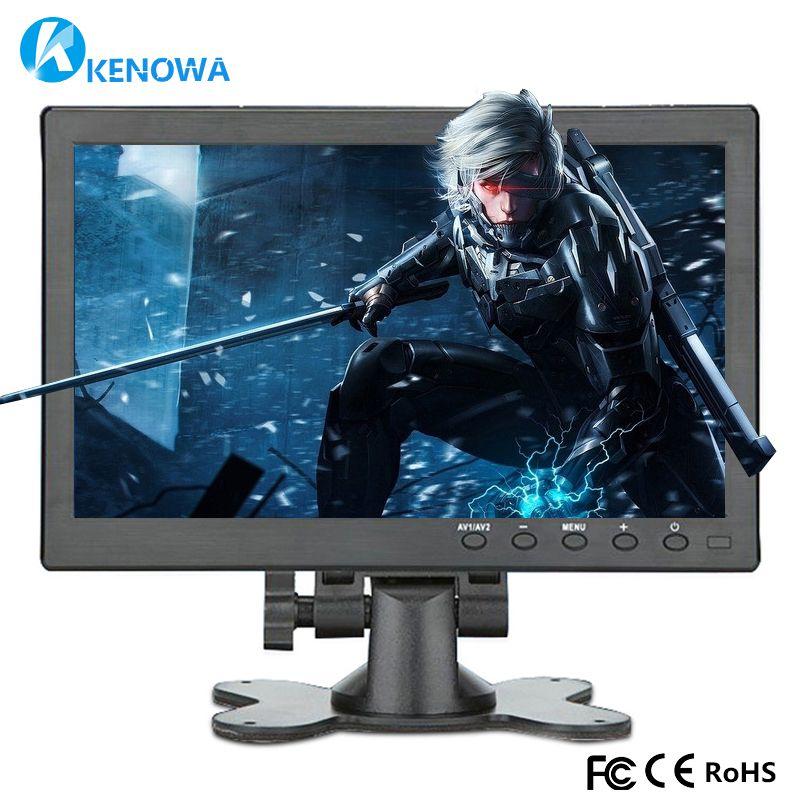 10.1 Inch 1280*800 IPS Display HDMI/VGA/AV/USB/TV Game Portable Monitor PS3 PS4 WiiU xbox360 Raspberry Pie