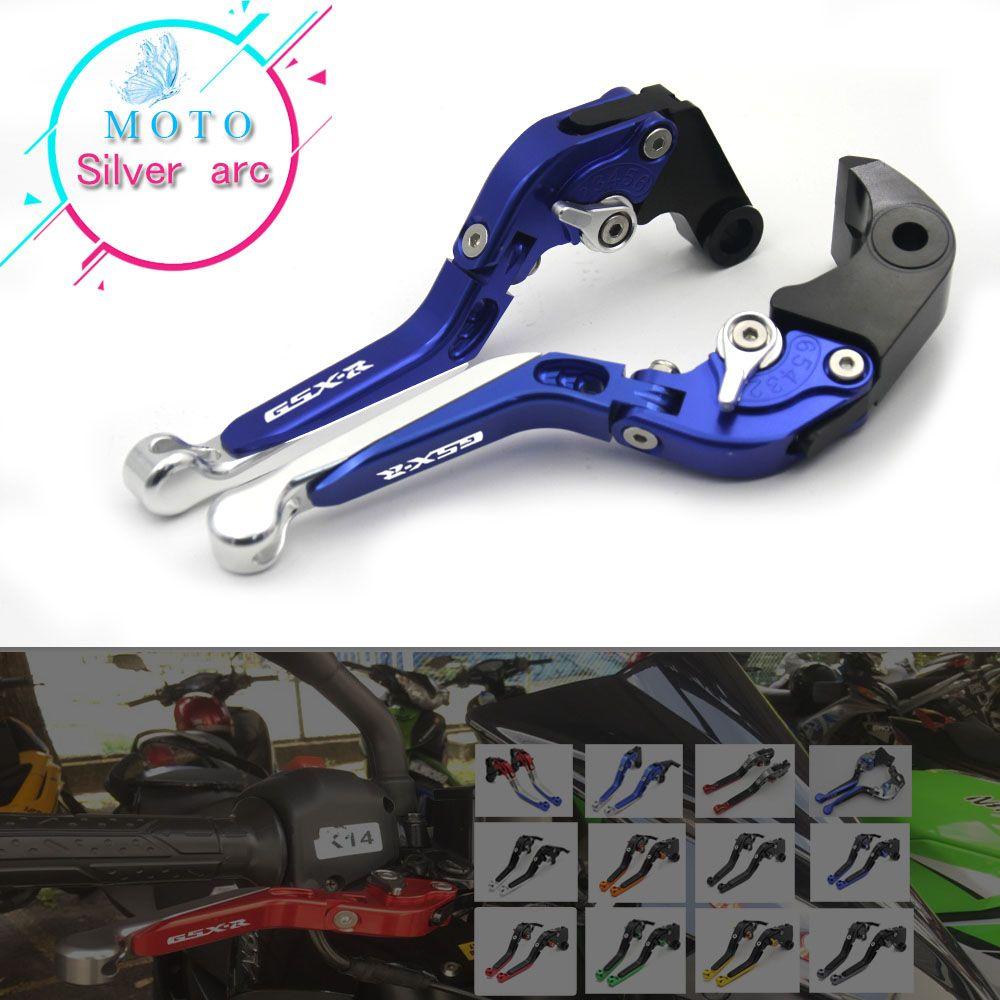 GSXR LOGO CNC Brake Clutch Levers For Suzuki For SUZUKI GSX R 600 GSX-R 750 2011-2017 GSXR 1000 2009-2017 GSX-S1000 F ABS 15-17