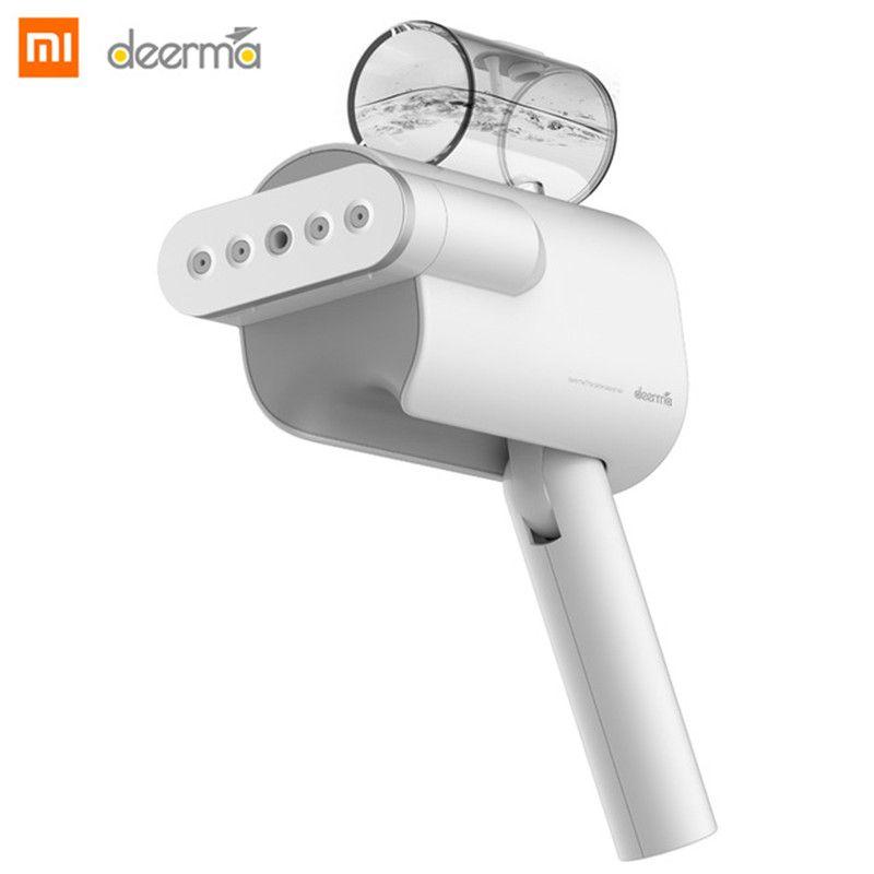 Nouveau 2019 Xiaomi Deerma 220V poche vêtement vapeur ménage portable vapeur fer brosses à vêtements pour appareils ménagers