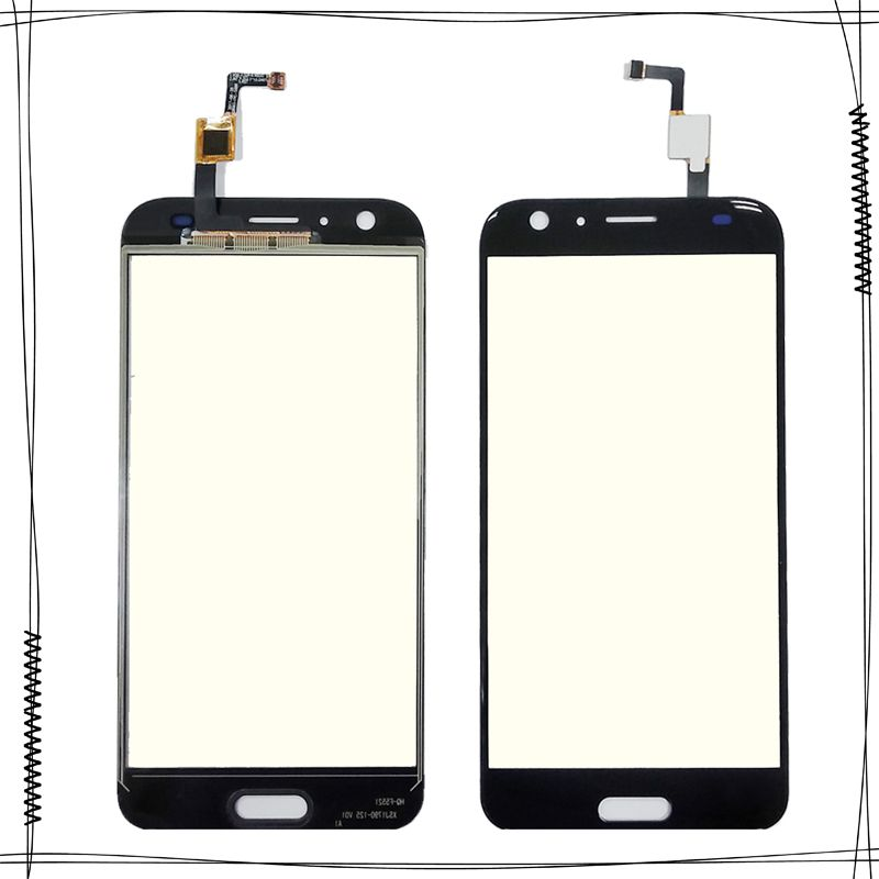5.5'' Black Touchpad Touchscreen For Doogee BL5000 BL 5000 Touch Screen Digitizer Sensor Front Outer Glass Panel