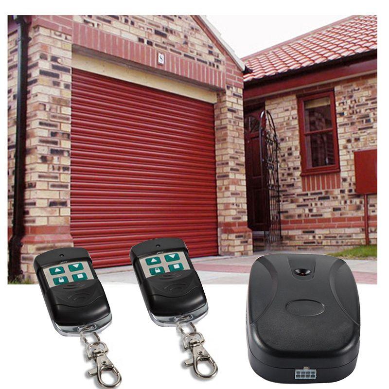 Universal garage door remote control wireless gate remote wireless control controller smart remote controller for Chain motor