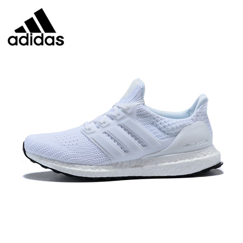 Official original Adidas Ultra Boost 4.0 UB 4.0 Popcorn Running Shoes Sneakers Sports for Men white Breathable BB6168 40-44
