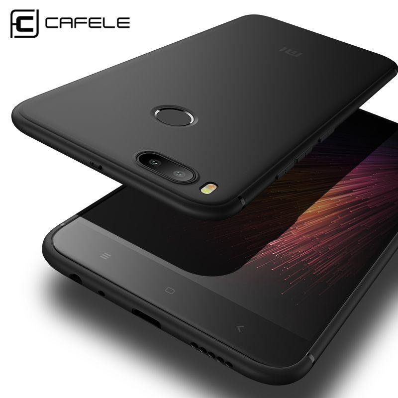 Cafele Matte TPU Telefon Fall für Xiaomi MI 5X (A1) ultradünne 0,6mm Anti-fingerprint TPU Abdeckung für Xiaomi A1