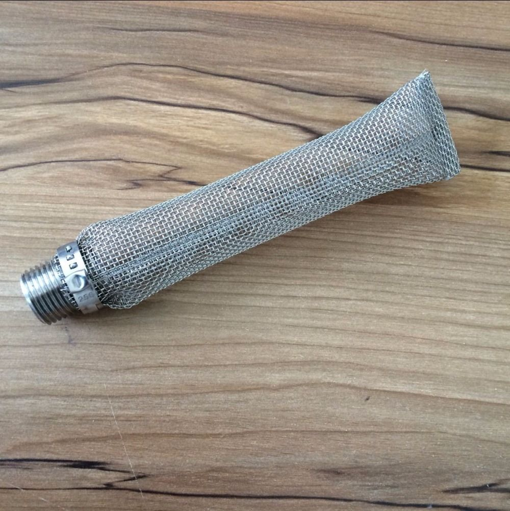 Fournitures Homebrew Bazooka Écran/Filtre/Tube avec Raccord De Tuyau pour La Bière Brassage Bouilloires en Ébullition/Pots/Mash Tun Acier Treillis métallique