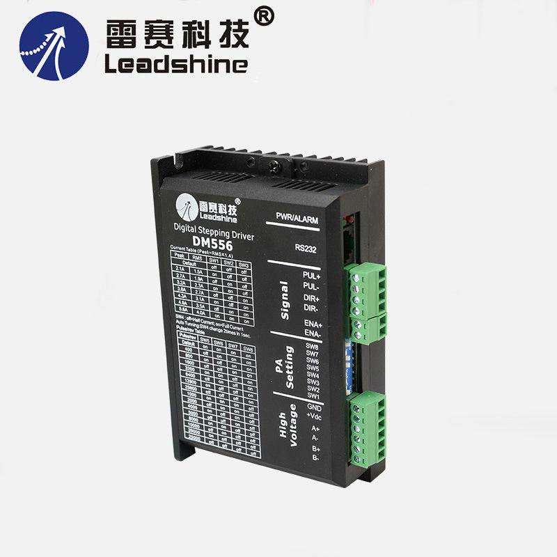 2 phase DM556 fahrer für nema23 nema34 schrittmotor 36-60 VDC 2.1A zu 5.6A