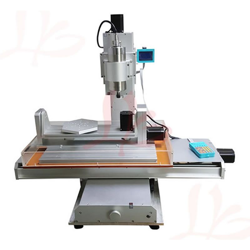 1500W 2200W Spindle 5 Axis CNC Router 3040 Engraving Machine Ball Screw Table Column Type Woodworking Milling Machine