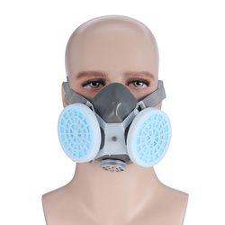 BARU Anti Debu Respirator Masker Filter Polishing Industri Cat Penyemprotan Menghias topeng Pelindung Keselamatan Kerja